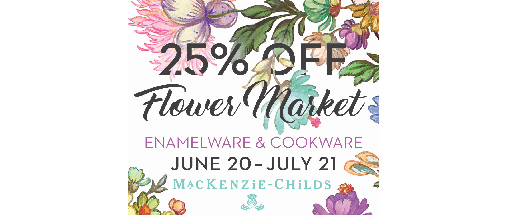 Flower Market Sale