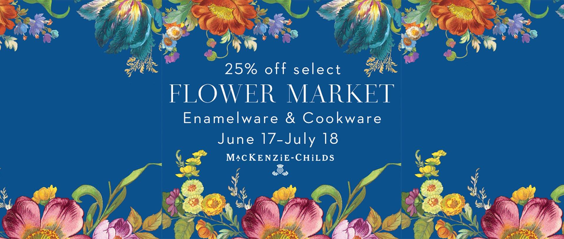 Flower Market Sale