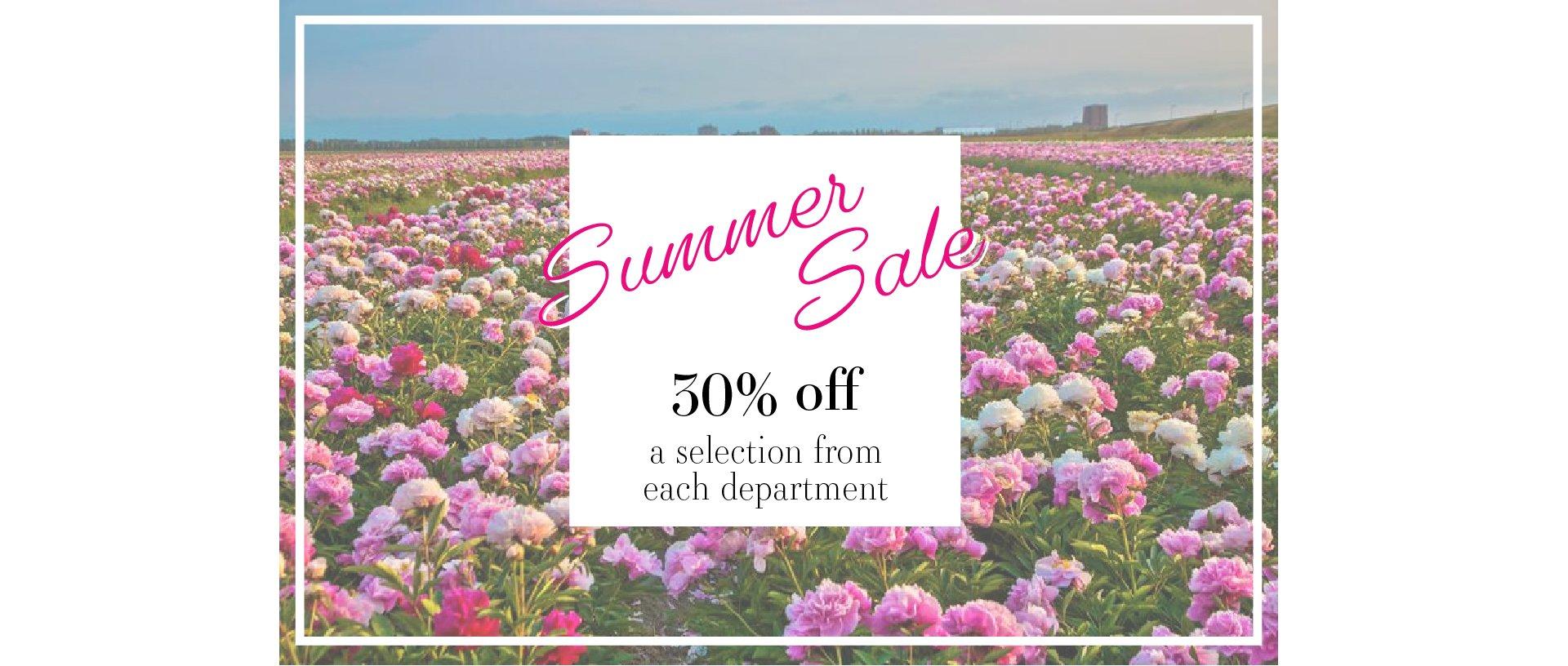 EGH Summer Sale